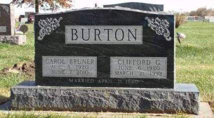 BURTON, CLIFFORD GUY - Madison County, Iowa | CLIFFORD GUY BURTON
