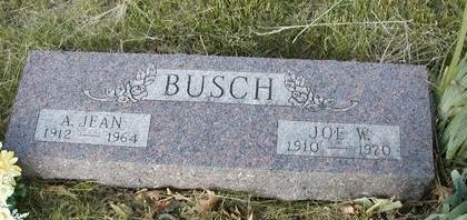 CRAWFORD BUSCH, ALMA JEAN - Madison County, Iowa | ALMA JEAN CRAWFORD BUSCH
