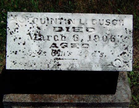 BUSCH, QUINTIN LYMAN - Madison County, Iowa | QUINTIN LYMAN BUSCH