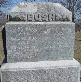 BUSH, HENRY - Madison County, Iowa | HENRY BUSH