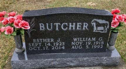BUTCHER, ESTHER JOSEPHINE - Madison County, Iowa | ESTHER JOSEPHINE BUTCHER