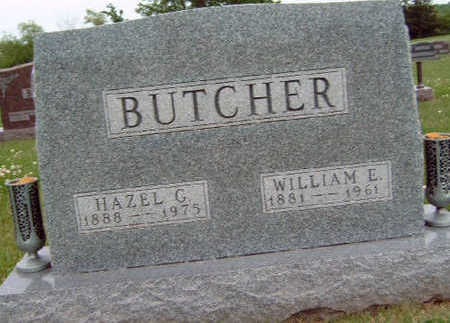BUTCHER, HAZEL GWENDOLYN - Madison County, Iowa | HAZEL GWENDOLYN BUTCHER