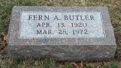 BUTLER, FERN ARLENE - Madison County, Iowa | FERN ARLENE BUTLER