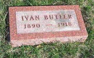 BUTLER, IVAN WILLIAM - Madison County, Iowa | IVAN WILLIAM BUTLER