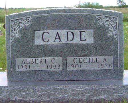 CADE, ALBERT CECIL - Madison County, Iowa | ALBERT CECIL CADE