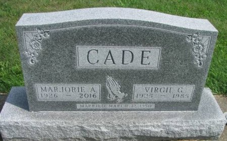 CADE, VIRGIL GLEN - Madison County, Iowa | VIRGIL GLEN CADE