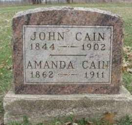 CAIN, JOHN - Madison County, Iowa | JOHN CAIN