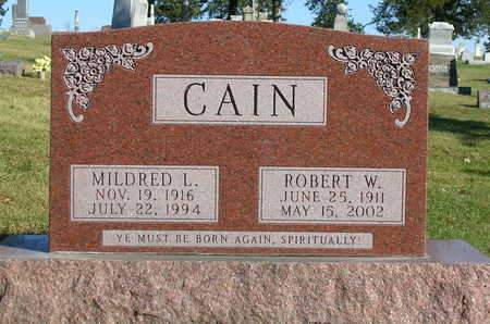 CAIN, ROBERT WALTER - Madison County, Iowa | ROBERT WALTER CAIN