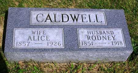 CALDWELL, ALICE MAY - Madison County, Iowa | ALICE MAY CALDWELL