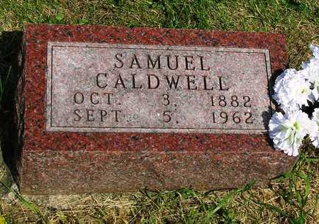 CALDWELL, SAMUEL A. - Madison County, Iowa | SAMUEL A. CALDWELL