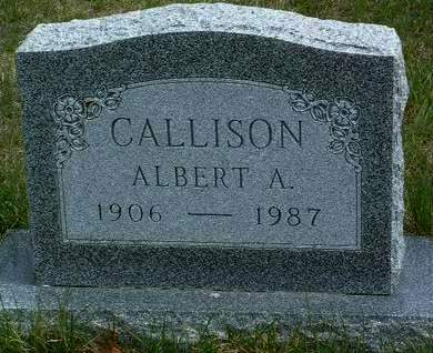 CALLISON, ALBERT ANDREW - Madison County, Iowa | ALBERT ANDREW CALLISON