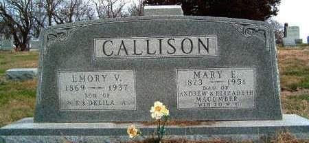 CALLISON, MARY EMILY - Madison County, Iowa | MARY EMILY CALLISON