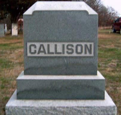 CALLISON, FAMILY STONE - Madison County, Iowa | FAMILY STONE CALLISON
