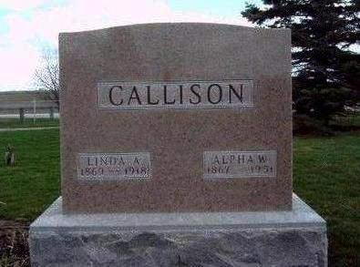 CALLISON, ALPHA WILLIS - Madison County, Iowa | ALPHA WILLIS CALLISON
