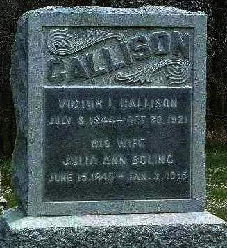 BOLING CALLISON, JULIA ANN - Madison County, Iowa | JULIA ANN BOLING CALLISON