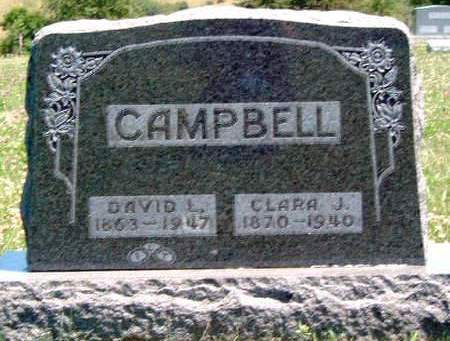 CAMPBELL, CLARA J. - Madison County, Iowa | CLARA J. CAMPBELL