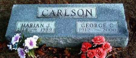 CARLSON, MARIAN JOSEPHINE - Madison County, Iowa | MARIAN JOSEPHINE CARLSON