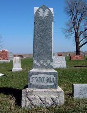 CARROLL, FAMILY HEADSTONE - Madison County, Iowa | FAMILY HEADSTONE CARROLL