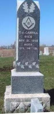 CARROLL, THOMAS J. - Madison County, Iowa | THOMAS J. CARROLL