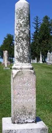 CART, RENIE B. - Madison County, Iowa | RENIE B. CART