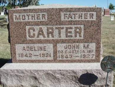 CARTER, ADELINE - Madison County, Iowa | ADELINE CARTER