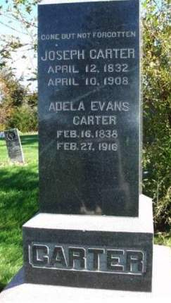 EVANS CARTER, ADELA - Madison County, Iowa | ADELA EVANS CARTER
