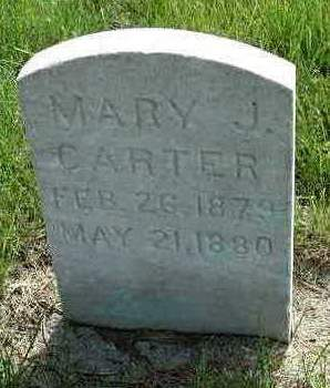 CARTER, MARY JANE - Madison County, Iowa | MARY JANE CARTER