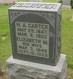 WALKUP CARTER, ELIZABETH M. - Madison County, Iowa | ELIZABETH M. WALKUP CARTER
