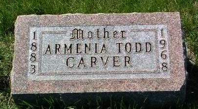 CARVER, ARMENIA - Madison County, Iowa | ARMENIA CARVER