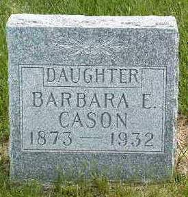 CASON, BARBARA E. - Madison County, Iowa | BARBARA E. CASON