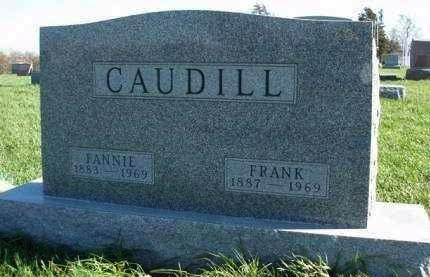 CAUDILL, JAMES FRANKLIN (FRANK) - Madison County, Iowa | JAMES FRANKLIN (FRANK) CAUDILL