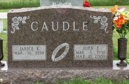 CAUDLE, JANICE K. - Madison County, Iowa | JANICE K. CAUDLE