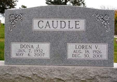 CAUDLE, DONA JEAN - Madison County, Iowa | DONA JEAN CAUDLE