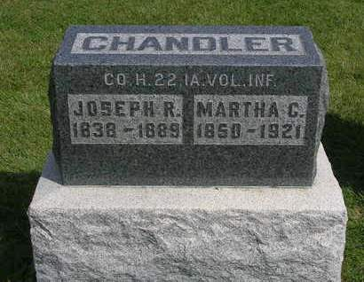 CHANDLER, MARTHA R.  (MATTIE) - Madison County, Iowa | MARTHA R.  (MATTIE) CHANDLER