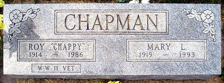 CHAPMAN, MARY L. - Madison County, Iowa | MARY L. CHAPMAN