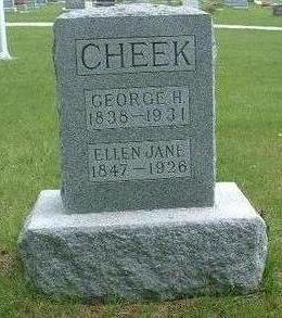 CHEEK, ELLEN JANE - Madison County, Iowa | ELLEN JANE CHEEK