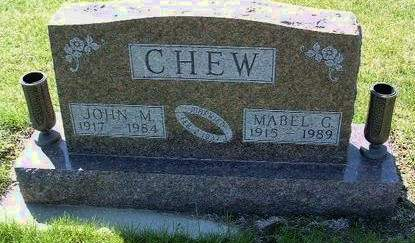 CHEW, MABEL GERALDINE - Madison County, Iowa | MABEL GERALDINE CHEW