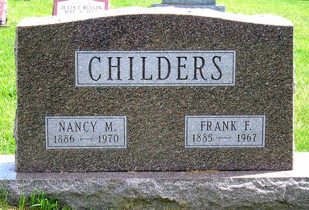 CHILDERS, NANCY MAUD - Madison County, Iowa | NANCY MAUD CHILDERS