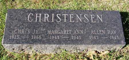 CHRISTENSEN, MARGARET ANN - Madison County, Iowa | MARGARET ANN CHRISTENSEN