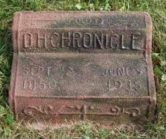 CHRONICLE, DAVID HENRY - Madison County, Iowa | DAVID HENRY CHRONICLE