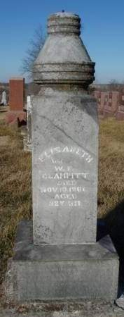 KEITHLEY CLAMPITT, ELIZABETH - Madison County, Iowa | ELIZABETH KEITHLEY CLAMPITT