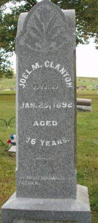 CLANTON, JOEL M. - Madison County, Iowa | JOEL M. CLANTON