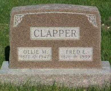 CLAPPER, OLIVE MAY (OLLIE) - Madison County, Iowa | OLIVE MAY (OLLIE) CLAPPER