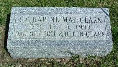 CLARK, CATHERINE MAE - Madison County, Iowa | CATHERINE MAE CLARK
