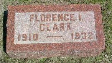 CLARK, FLORENCE I. - Madison County, Iowa | FLORENCE I. CLARK