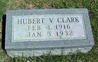 CLARK, HUBERT V. - Madison County, Iowa | HUBERT V. CLARK