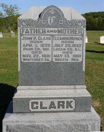 CLARK, JOHN P. - Madison County, Iowa | JOHN P. CLARK