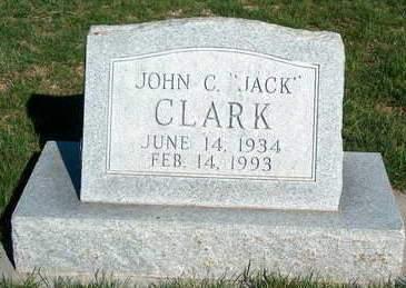 CLARK, JOHN CLIFTON (JACK) - Madison County, Iowa | JOHN CLIFTON (JACK) CLARK