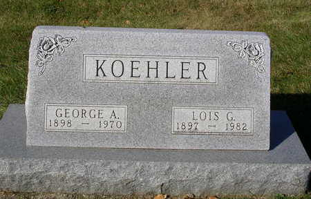 CLARK KOEHLER, LOIS G. - Madison County, Iowa | LOIS G. CLARK KOEHLER