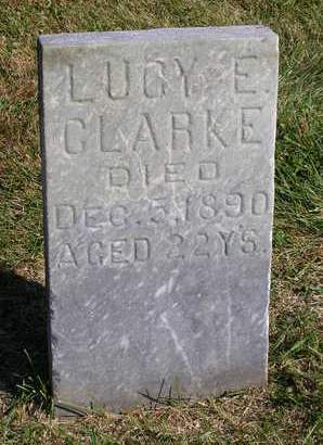 CLARKE, LUCY E. - Madison County, Iowa | LUCY E. CLARKE